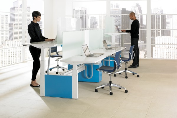Teknion - Height Adj Bench Livello 6