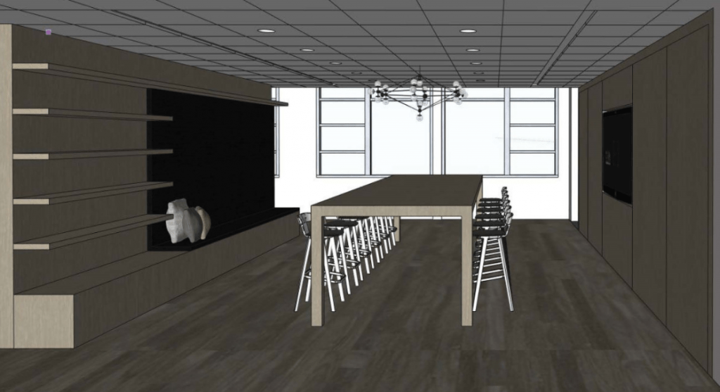 New Showroom Rendering 2