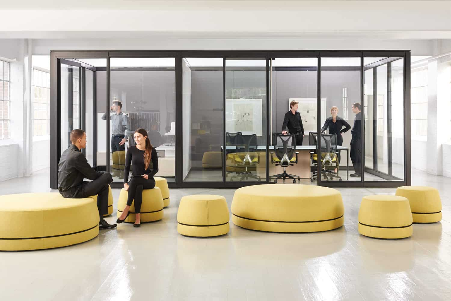 modern collaborative office space