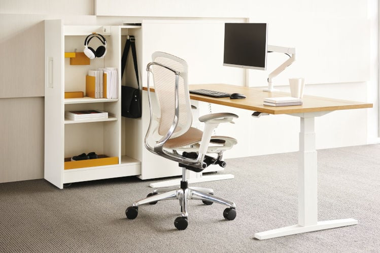 Teknion Height-adjustable Tables from Teammates